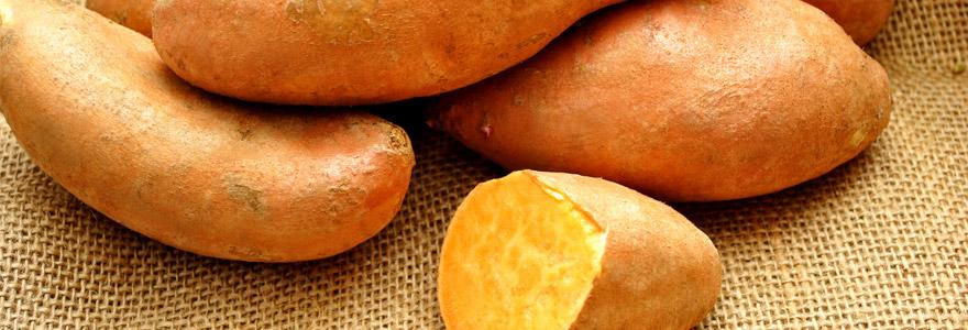 carence en magnésium patate douce